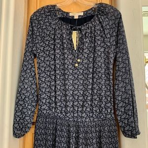 NWT Michael Kors Navy Dress